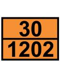 Panneau orange