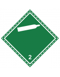 Étiquette Classe 2.2 couverture