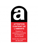 Étiquette Amiante