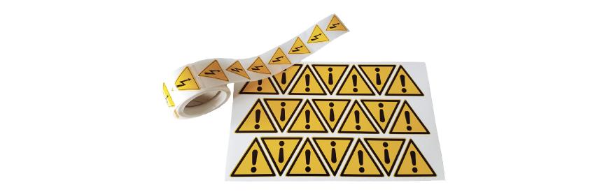 Pictogramme Danger suivant la norme ISO7010