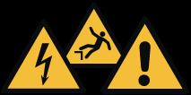 Etiquettes pictogramme danger